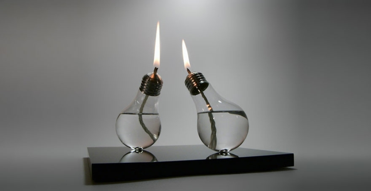 manualidades en casa bombillas lamaparas diseno ideas