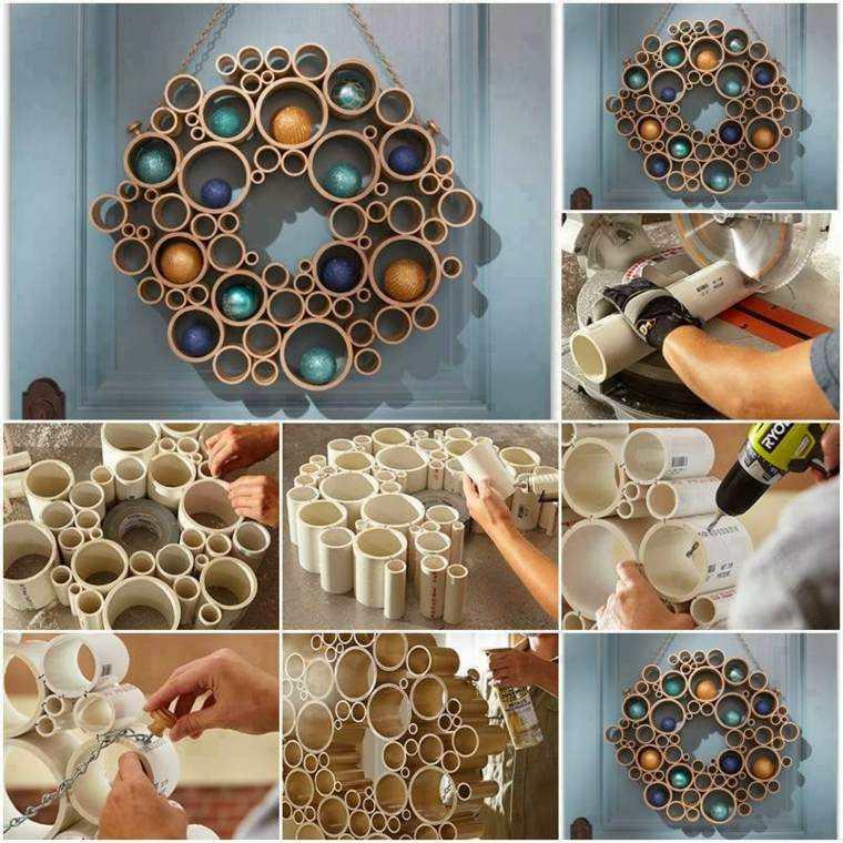 manualidades casa guirnalda decorativa ideas