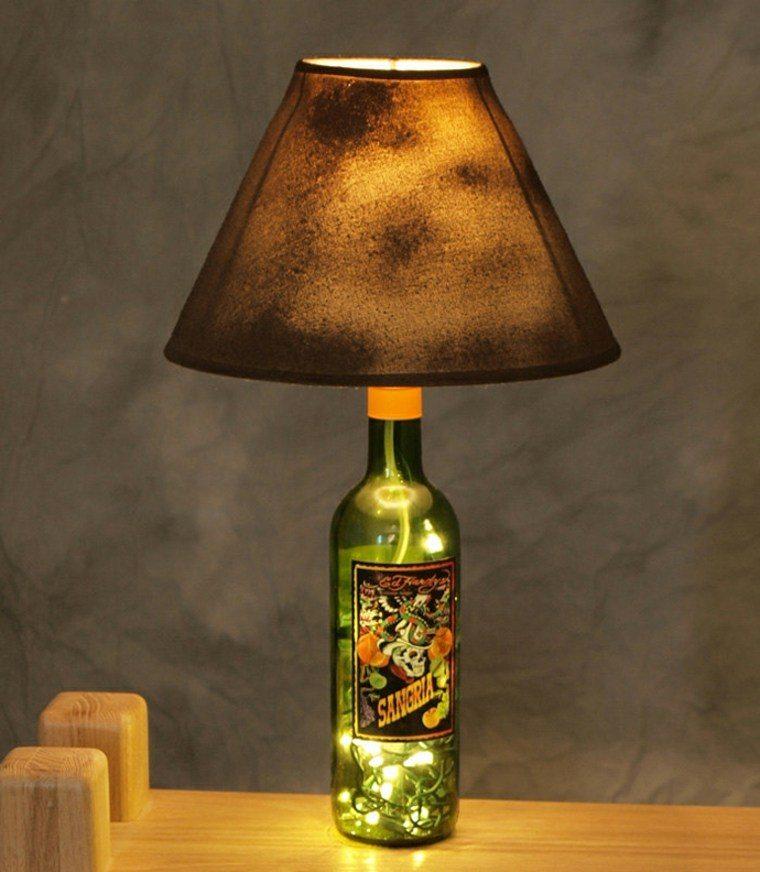 manualidades casa lampara original ideas
