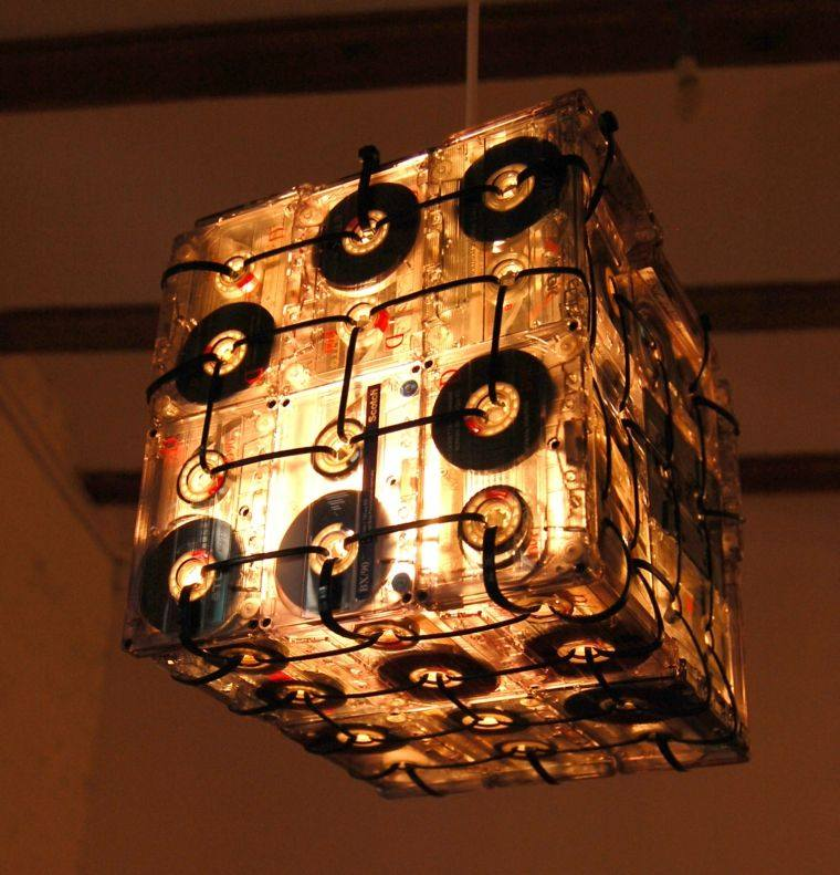 manualidades casa luz suspendida ideas
