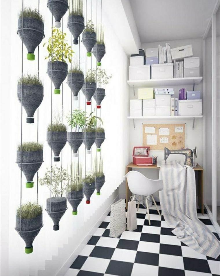 manualidades casa macetas colgantes plantas ideas