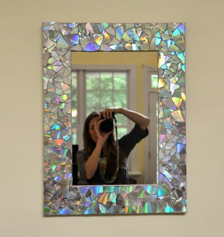 manualidades casa marco espejo precioso ideas