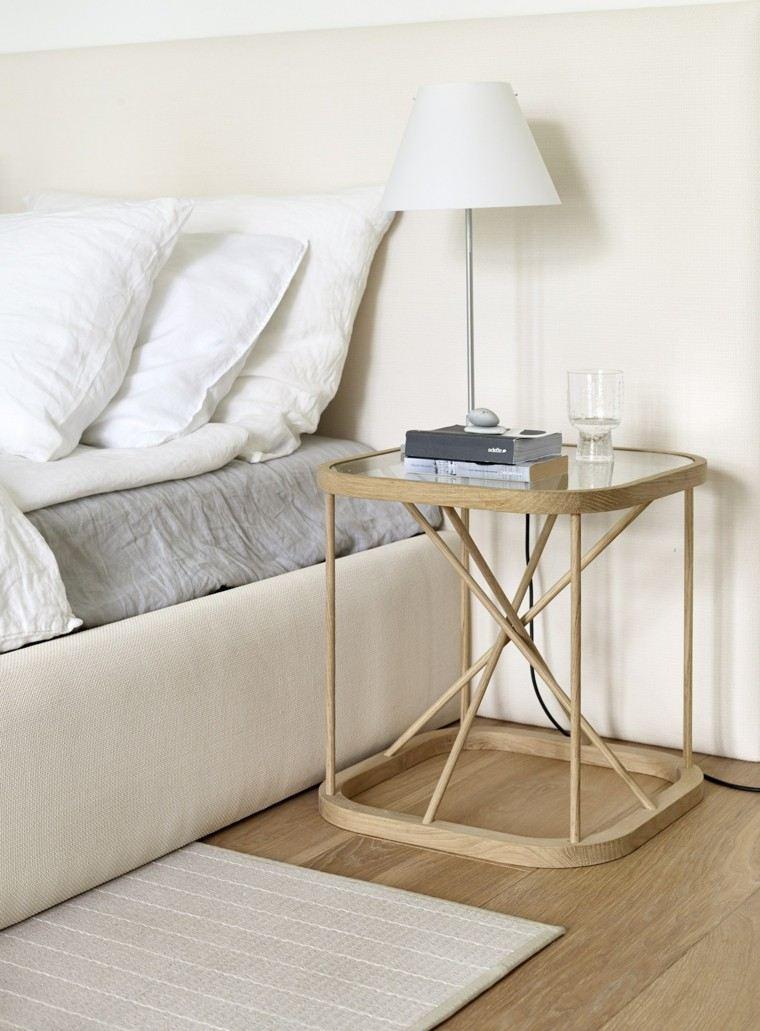 mesa auxuliar preciosas cama opciones ideas