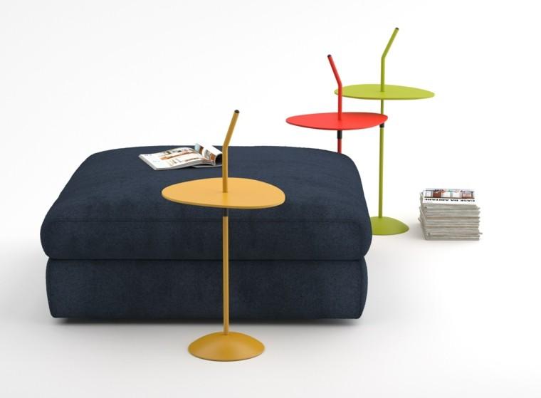 mesa auxuliar preciosas colores llamativos ideas