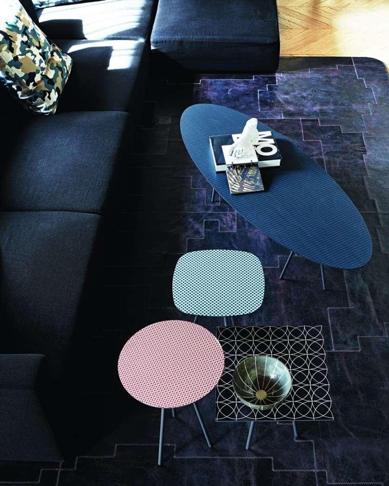mesa auxuliar preciosas colores vibrantes ideas