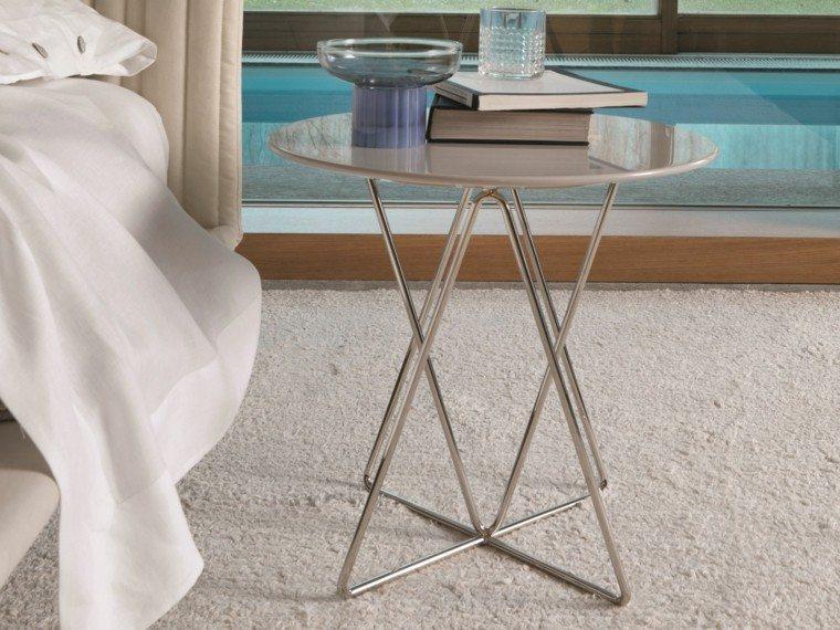 mesa auxuliar preciosas forma redonda original ideas