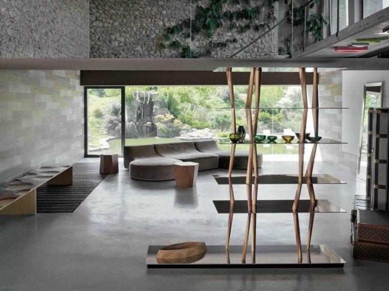 mesa auxuliar preciosas madera salon ideas