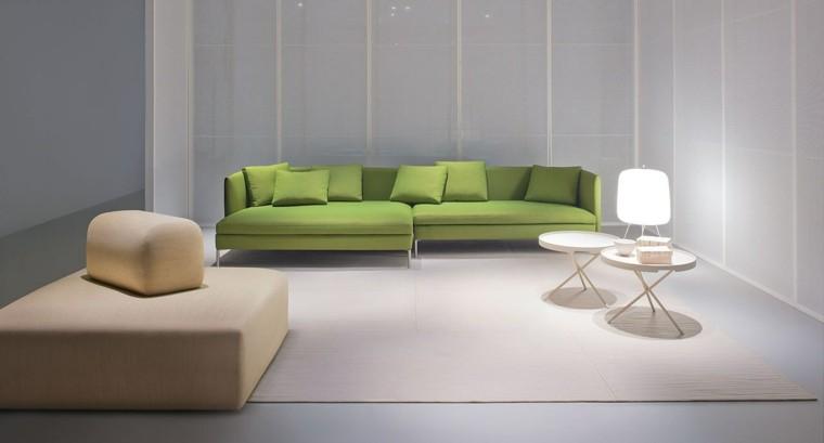 mesas auxiliares preciosas blancas salon ideas