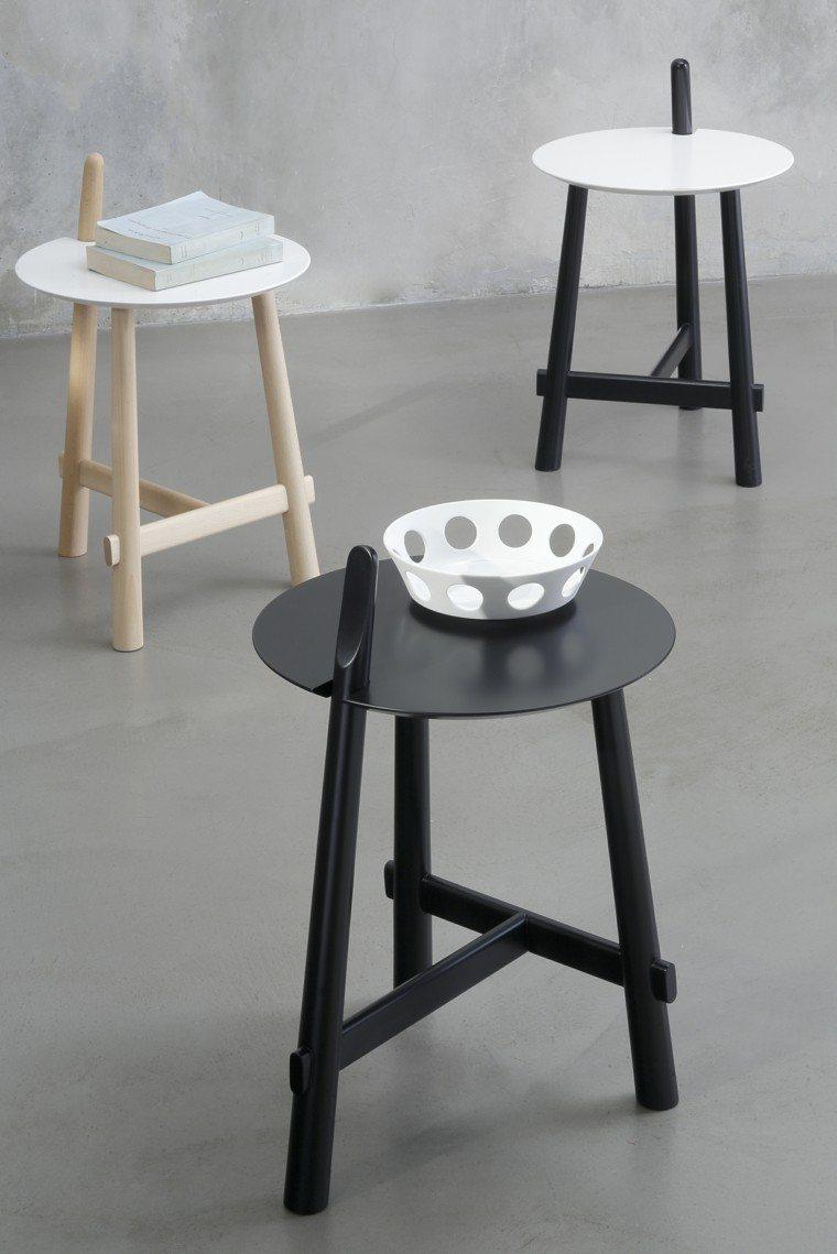 mesa auxiliar preciosas distintos colores ideas