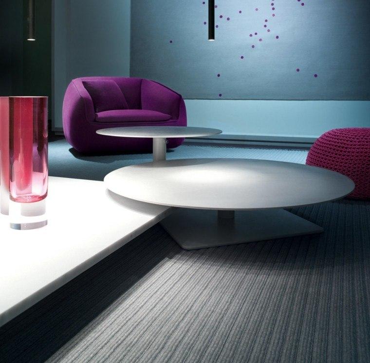 mesas auxiliares preciosas estilo salon ideas