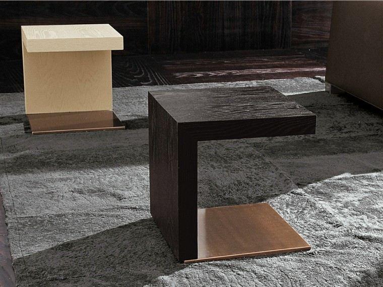 mesas auxiliares preciosas forma interesante ideas
