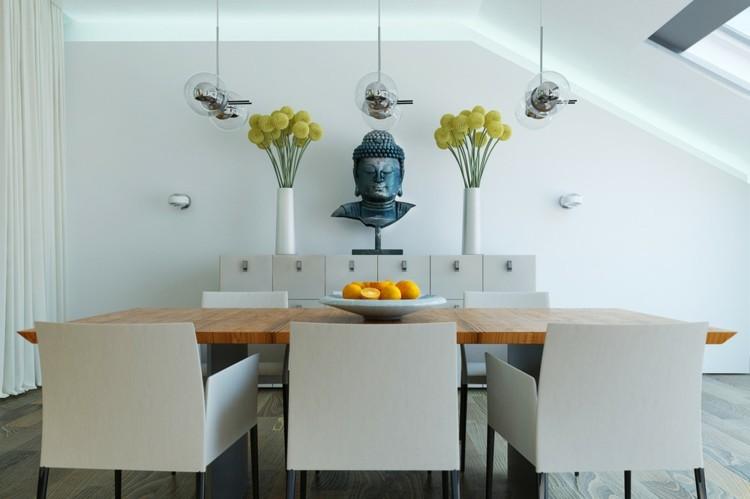 mesas casas variables cristales madera