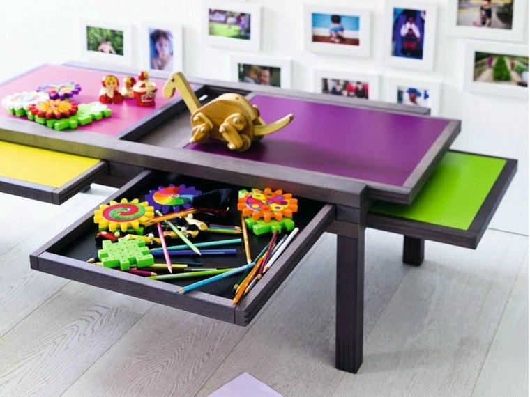 mesilla extensible niños colores juegos