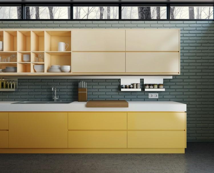 metales casas variables lineas moderno amarillo