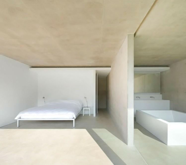diseño minimalismo habitacion cuarto baño