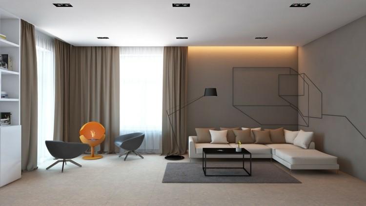 minimalista alfombras diseño metales led