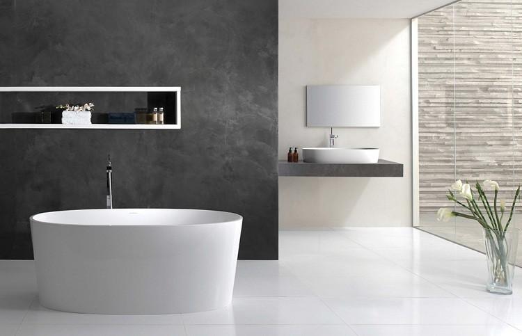 minimalista detalles baño creaciones grises