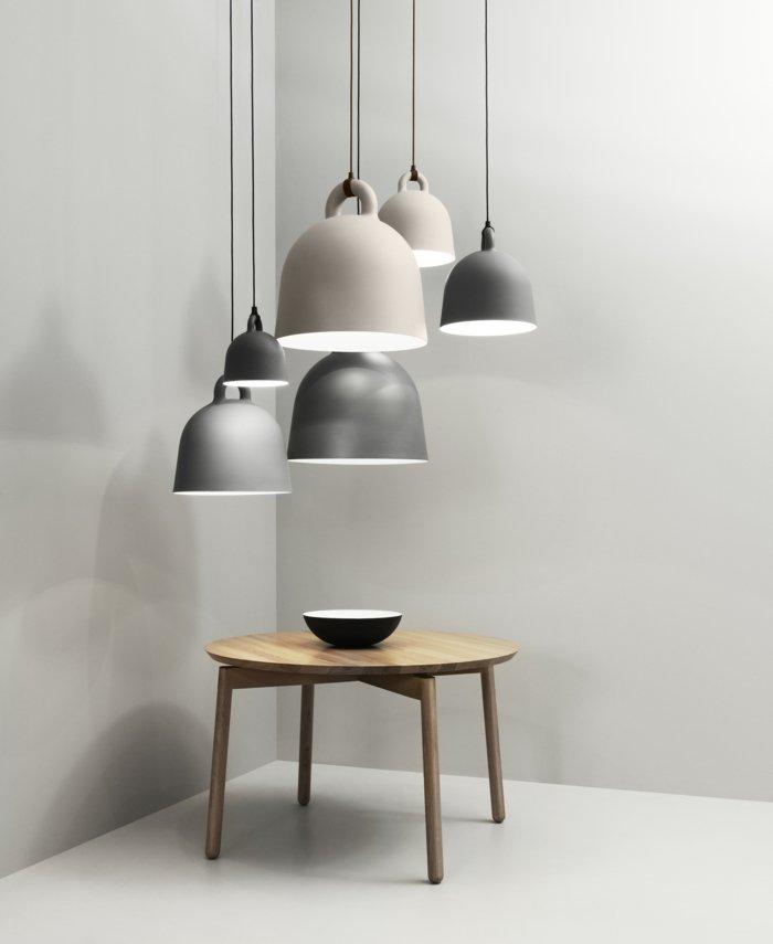 mobiliario diseño lamparas colgantes maderas