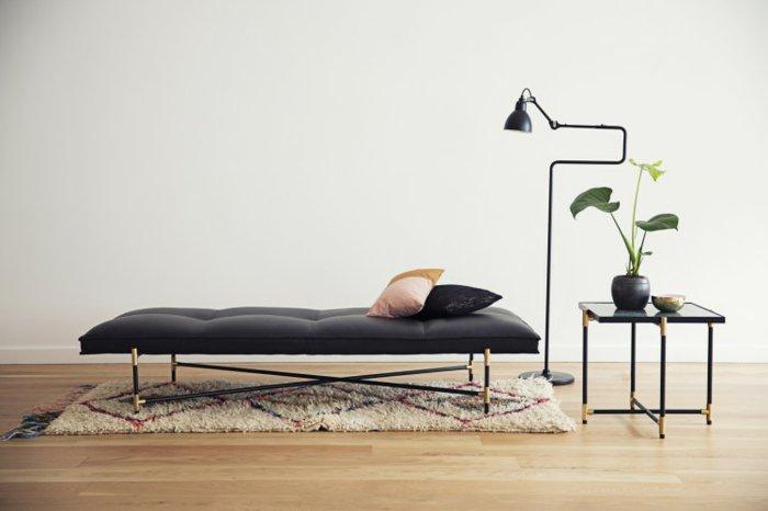 mobiliario diseño salones casas metales