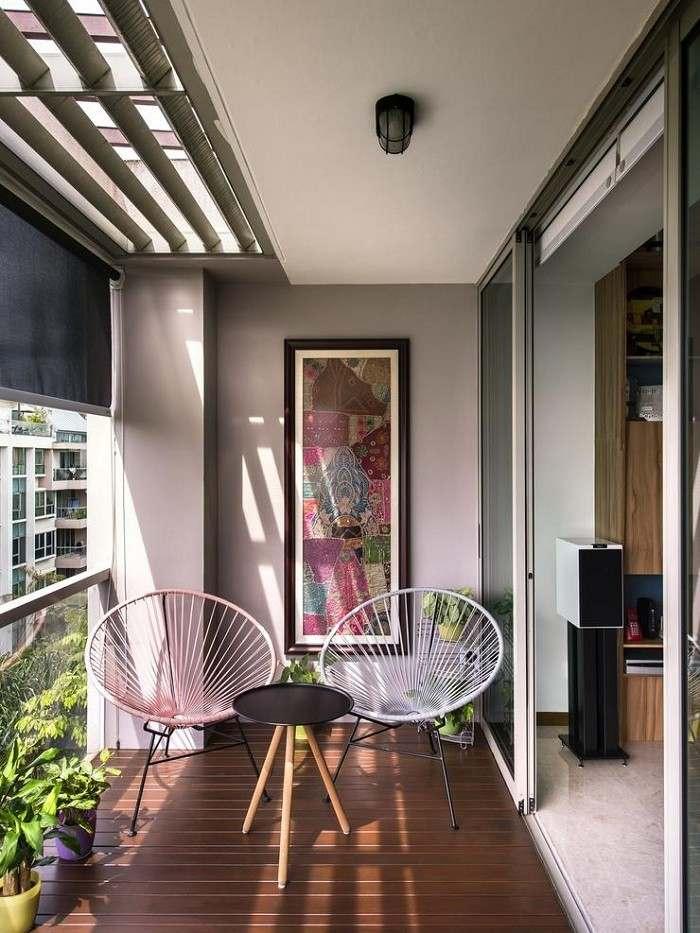 decoracion de balcones cuadros soluciones cuerdas