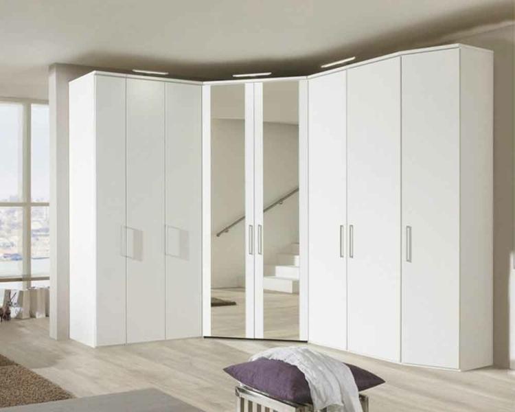 modular armarios blanco vidrio detalles suelos
