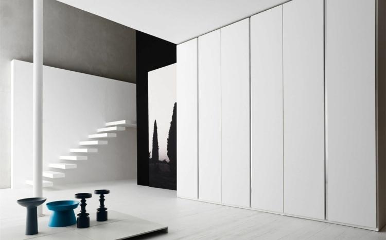 modular armarios detalles casas blanco negro