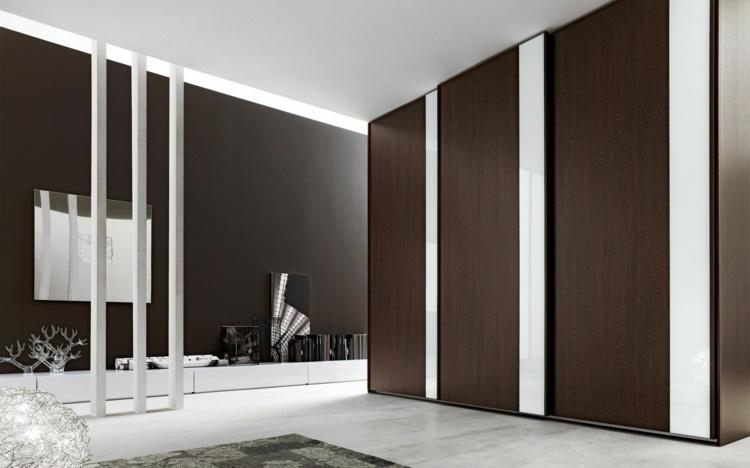 modular armarios detalles casas marrones cintas