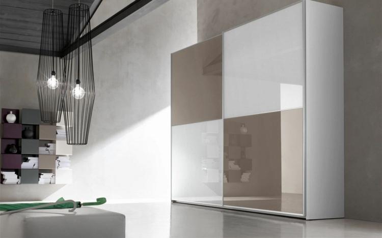 modular armarios detalles vidrio aluminio ramas
