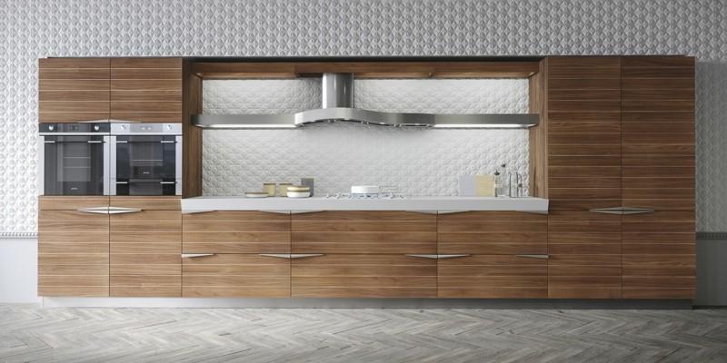 modulo pared cocina madera laminada