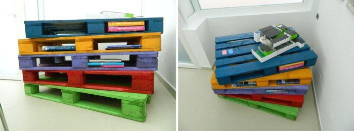 mueblesw escalones pallets colores