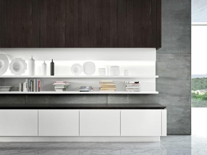 muebles cocina blanco madera laminada