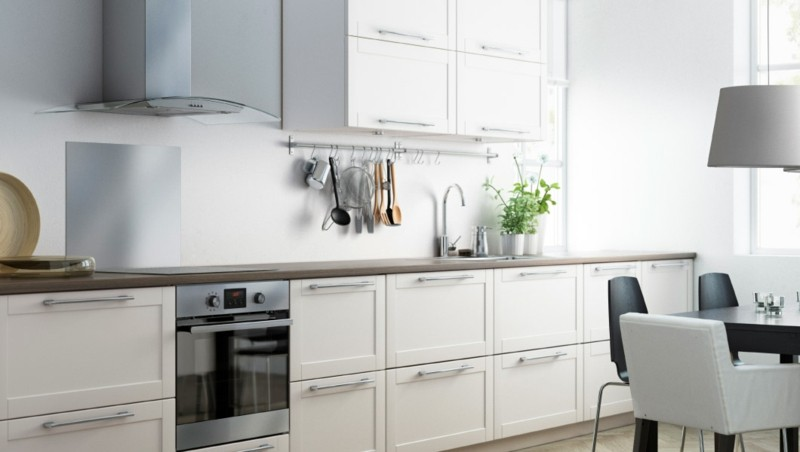 Muebles De Cocina En Blanco. Dise Ar Muebles De Cocina Con Muebles ...