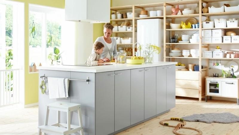 muebles cocina estuopendo isla diseño