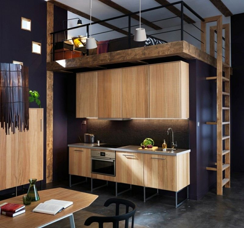 muebles cocina de madera laminada
