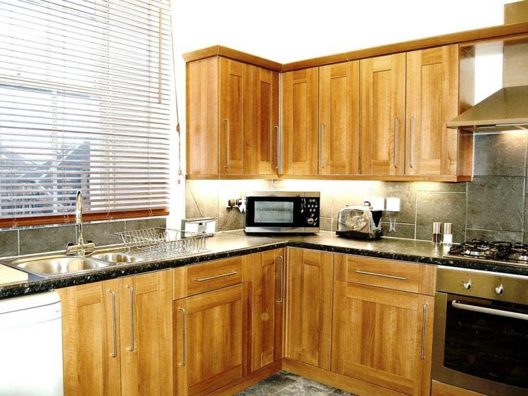 cocina diseño moderno madera