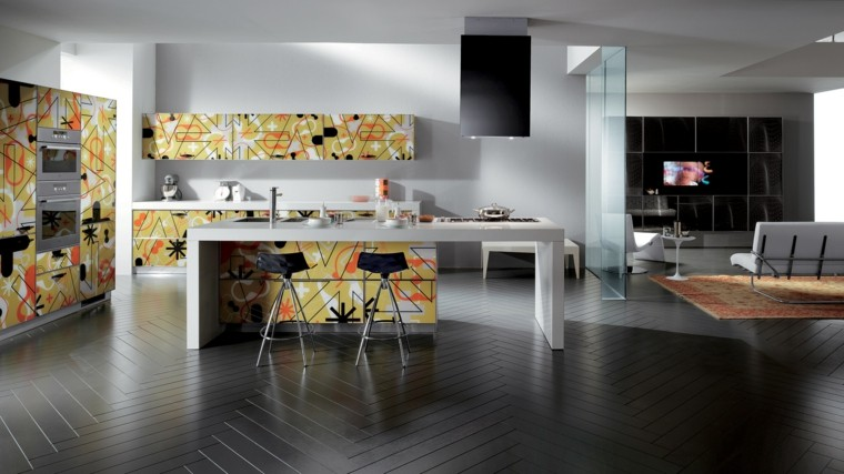 muebles de cocina modernos ideas alegres ideas