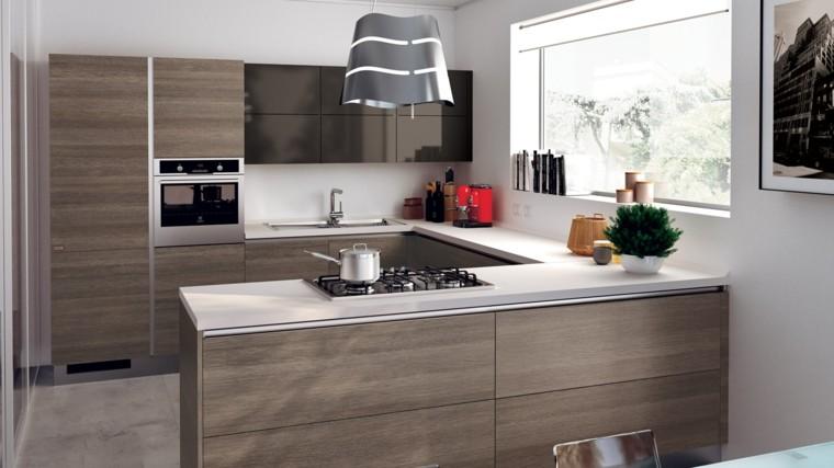 Muebles de cocina modernos para presumir for Muebles de cocina espacios reducidos
