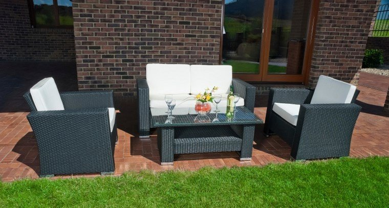 Muebles de exterior 39 ideas para el aire libre for Muebles exterior rattan