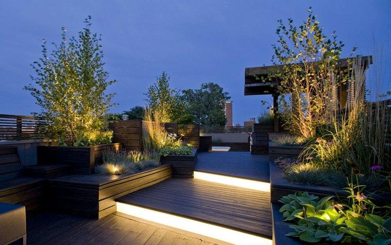 muebles diseños detalles techos escalones