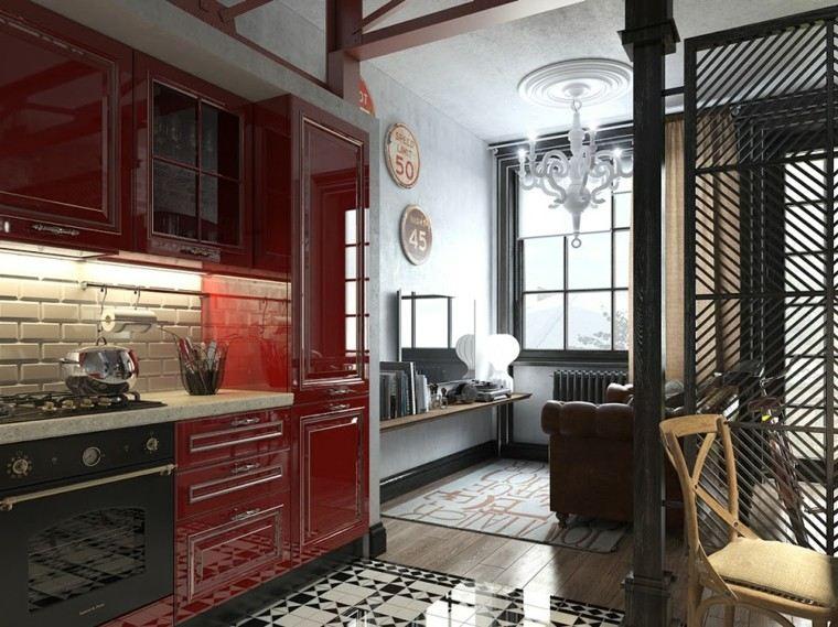 muebles diseno original cocina moderna industrial ideas