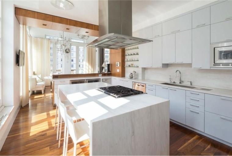 Muebles de cocina modernos para presumir for Diseno isla cocina
