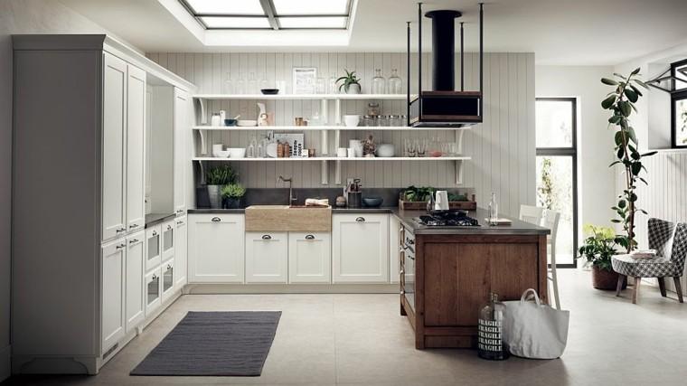 muebles diseno original cocina moderna naturalidad ideas