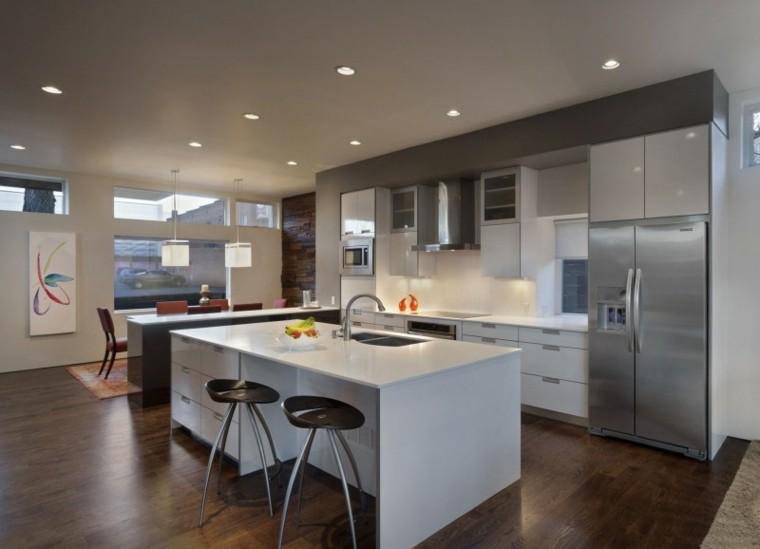 muebles diseno original cocina moderna opciones ideas