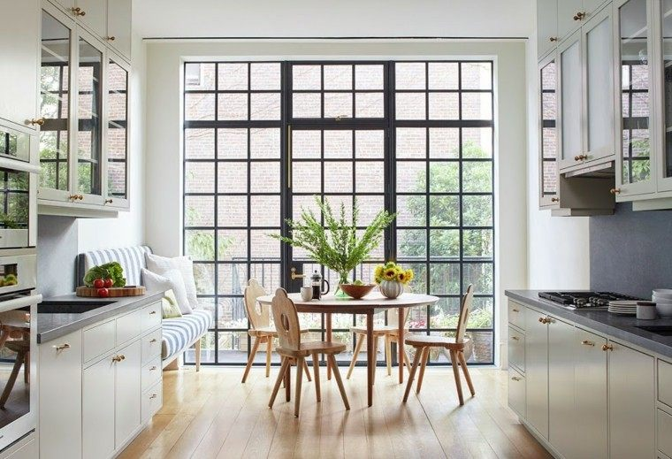 muebles diseno original cocina moderna sillas mesa ideas