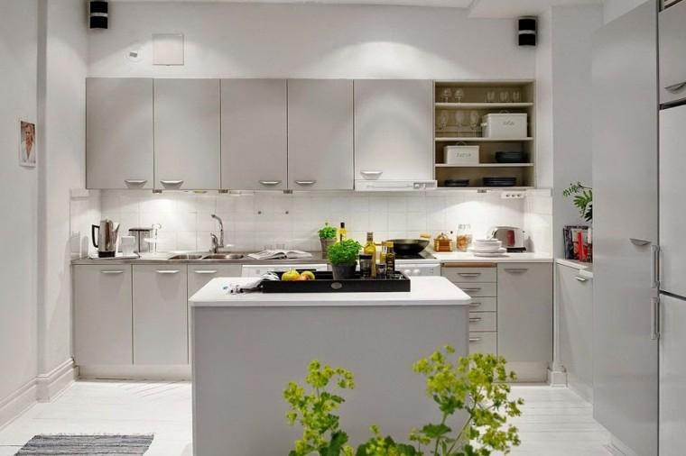 muebles diseno original cocina moderna isla pequena ideas