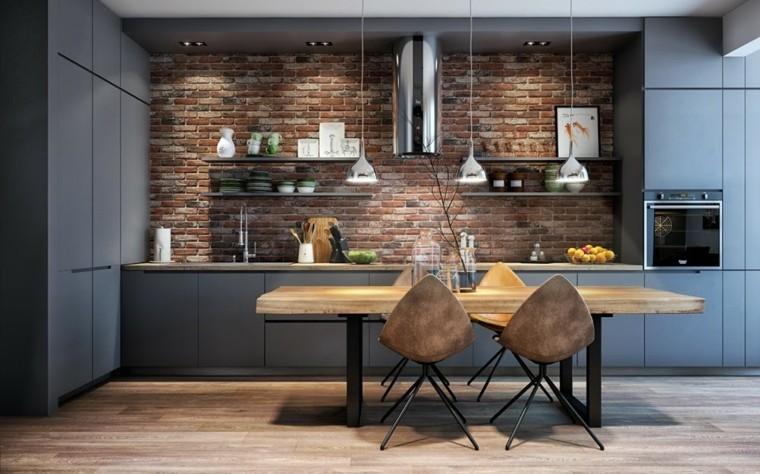 muebles diseno original cocina moderna sillas preciosas ideas