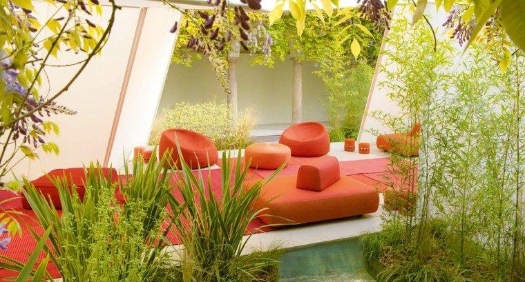 muebles diseno precioso color rojo ideas