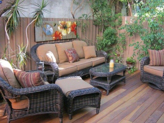 muebles elegante cojines casas plantas