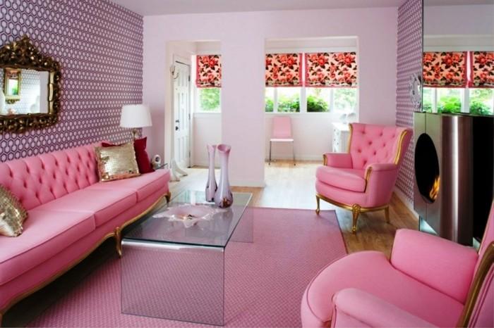 mueble -rosa detalles creativo casas contemporaneo