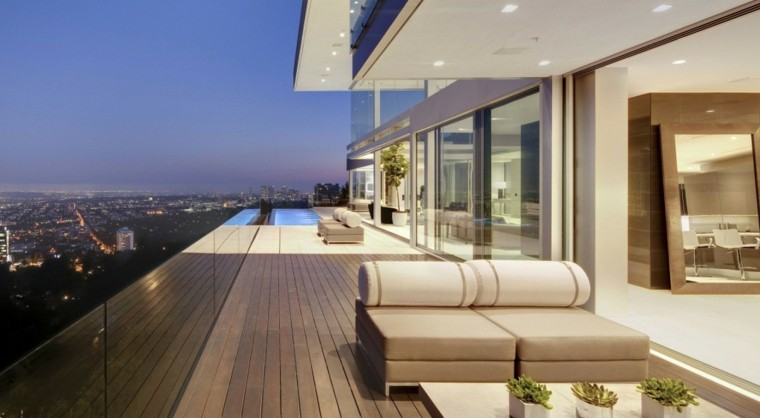 muebles de terraza diseño miminalista